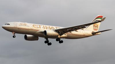 A6-EYD - Airbus A330-243 - Etihad Airways