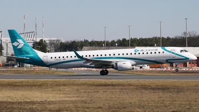 A picture of IADJU - Embraer E195LR - Air Dolomiti - © Daniel V.