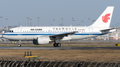 A picture of B6046 - Airbus A319115 - Air China - © ShirokaneRinko