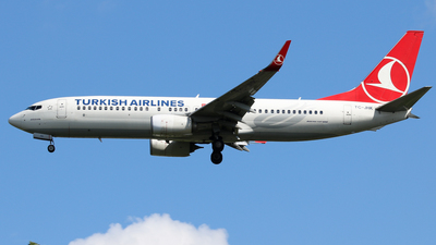 TC-JHK - Boeing 737-8F2 - Turkish Airlines