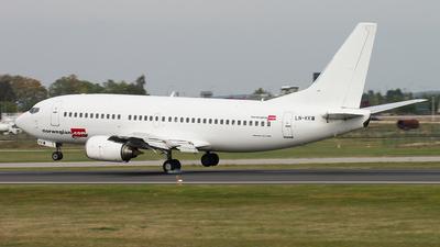 LN-KKW - Boeing 737-3K9 - Norwegian