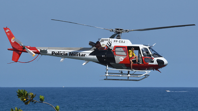 PP-EOJ - Eurocopter AS 350B2 SuperStar - Brazil - Military Police of São Paulo State