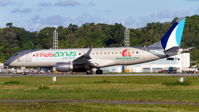 A picture of CP3142 - Embraer E190LR - Amaszonas - © Alessandro Iglesias