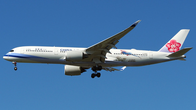 B-18908 - Airbus A350-941 - China Airlines