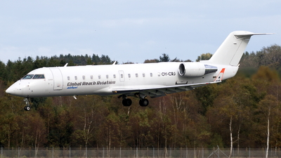 A picture of OYCRJ - Mitsubishi CRJ200LR - Copenhagen Airtaxi - © Klavs Nielsen