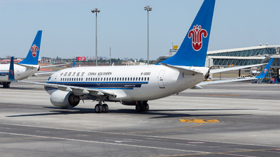 A picture of B5283 - Boeing 73771B - China Southern Airlines - © Marcus Yu
