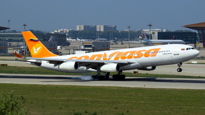 A picture of YV1004 - Airbus A340211 - Conviasa - © yiran