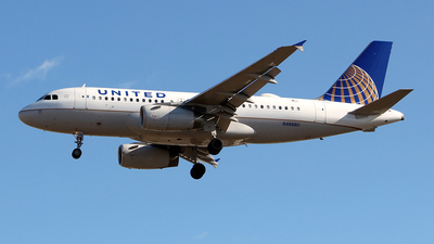 N4888U - Airbus A319-132 - United Airlines