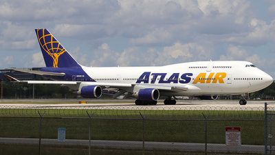 A picture of N263SG - Boeing 747481 - Atlas Air - © wilfredo torres