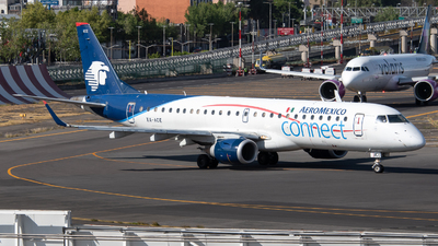A picture of XAACE - Embraer E190LR - Aeromexico Connect - © Juan Carlos Alvarez (MAS Aviation Press)