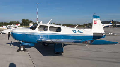 HB-DIH - Mooney M20J-201 - Private