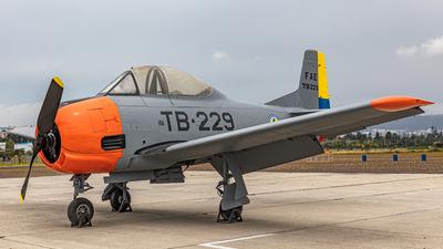 FAE-91545 - North American T-28A Trojan - Ecuador - Air Force