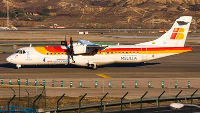 EC-HBY - ATR 72-212A(500) - Iberia Regional (Air Nostrum)