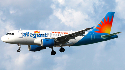 N324NV - Airbus A319-112 - Allegiant Air
