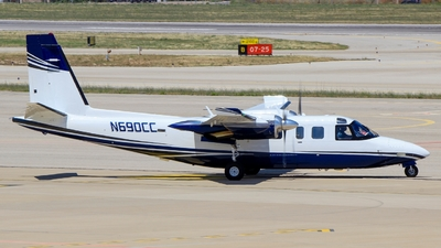A picture of N690CC - Rockwell 690B - [11379] - © Pampillonia Francesco - Plane Spotters Bari