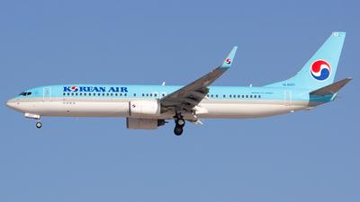 A picture of HL8221 - Boeing 7379B5(ER) - Korean Air - © sseca