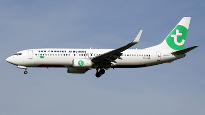 PH-HXB - Boeing 737-8K2 - Sun Country Airlines (Transavia Airlines)
