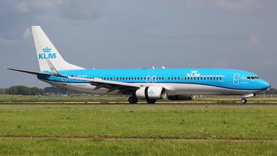 A picture of PHBXP - Boeing 7379K2 - KLM - © Davide Della Santa