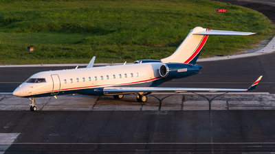 N668BB - Bombardier BD-700-1A10 Global 6000 - Private