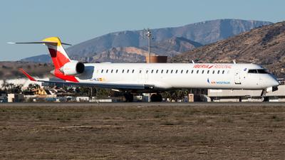 A picture of ECMJQ - Mitsubishi CRJ1000 - Iberia - © Fryderyk Kastelnik/ Fred Aviation