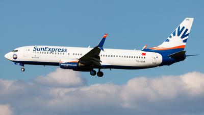 A picture of TCSOB - Boeing 7378HC - SunExpress - © Kuba Kawczynski