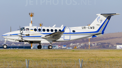UR-CWB - Beechcraft B300 King Air 350 - Ukraine - State Air Traffic Service Enterprise (UkSATSE)