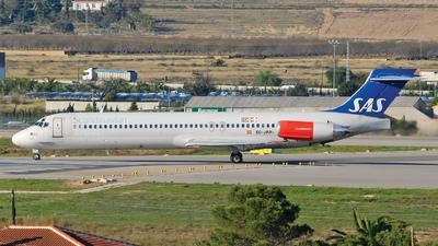 EC-JRR - McDonnell Douglas MD-87 - Scandinavian Airlines (Spanair)