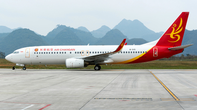 B-5115 - Boeing 737-8FH - Chang'an Airlines