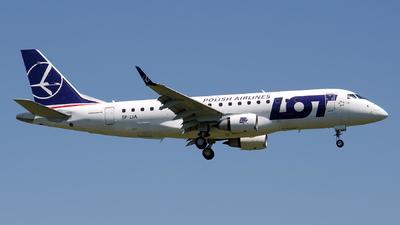 A picture of SPLIA - Embraer E175STD - LOT - © Hubay Andor