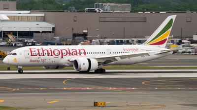 A picture of ETAOV - Boeing 7878 Dreamliner - Ethiopian Airlines - © Gautham Kurup