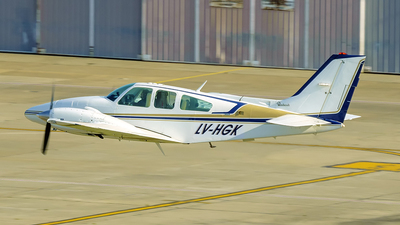 LV-HGK - Beechcraft G58 Baron - Private