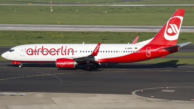 D-ABMS - Boeing 737-86J - Air Berlin