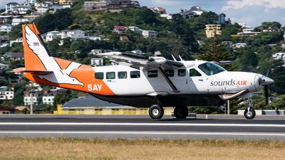 ZK-SAY - Cessna 208B Grand Caravan - Sounds Air
