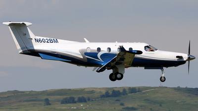 N602BM - Pilatus PC-12/45 - Private