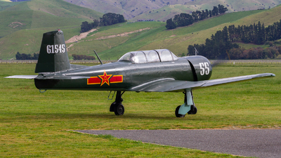 ZK-MAO - Nanchang CJ-6 - Wellington Aero Club