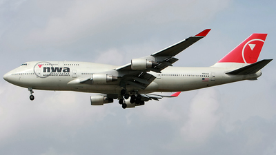 N664US - Boeing 747-451 - Northwest Airlines