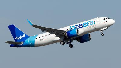 9K-CBH - Airbus A320-251N - Jazeera Airways