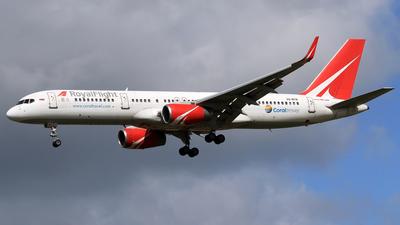 VQ-BTN - Boeing 757-256 - Royal Flight