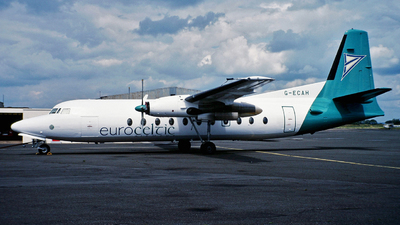 G-ECAH - Fokker F27-500 Friendship - Euroceltic Airways
