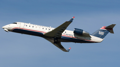 N216PS - Bombardier CRJ-200ER - US Airways Express (PSA Airlines)