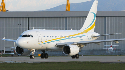 9H-AFM - Airbus A318-112(CJ) Elite - Comlux Aviation Malta