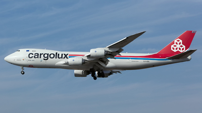 LX-VCK - Boeing 747-8R7F - Cargolux Airlines International