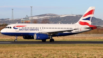 A picture of GEUOE - Airbus A319131 - British Airways - © Ethan Allen