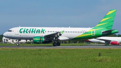 PK-GLL - Airbus A320-214 - Citilink