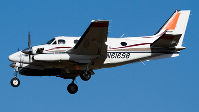 N61698 - Beechcraft C90A King Air - Private