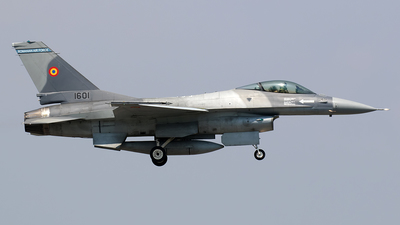 1601 - General Dynamics F-16AM Fighting Falcon - Romania - Air Force
