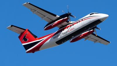 A picture of N883EA - De Havilland Canada Dash 8100 - Ravn Alaska - © Sebastian Roxman