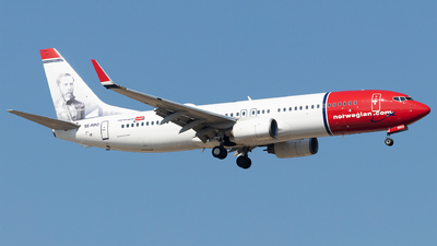 A picture of SERRO - Boeing 7378JP - Norwegian - © Moritz Babl