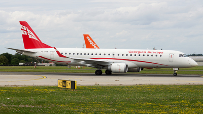 4L-TGV - Embraer 190-100IGW - Georgian Airways