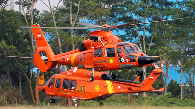 HR-3605 - Aérospatiale SA 365N3 Dauphin 2 - Indonesia - National Search and Rescue Agency (Basarnas)